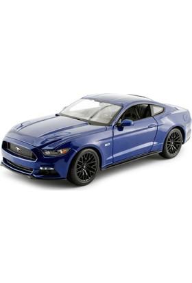 Maisto 2015 Ford Mustang Gt 1:18 Model Araba S - E Mavi