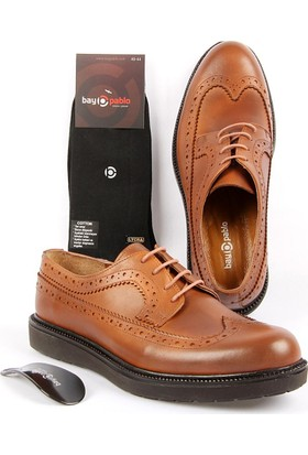Bay Pablo F140-03 Erkek Ayakkabı + Çorap