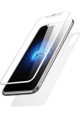 Kapakevi Apple iPhone X 3D Nano Ekran Koruyucu Kenarları Tam Kaplayan Kavisli