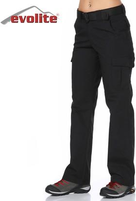 Evolite Goldrush Tactical Kadın Pantolon - Siyah