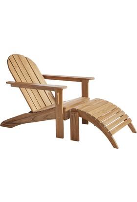 Woodha Masif Bahçe Koltuğu Relax