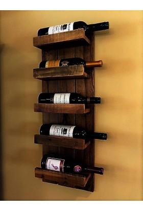 222 Concept Masif Ahşap Cpt2901-100 El Yapımı Şaraplık