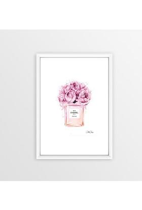 Lyn Home Çiçekli Parfüm Şişesi
