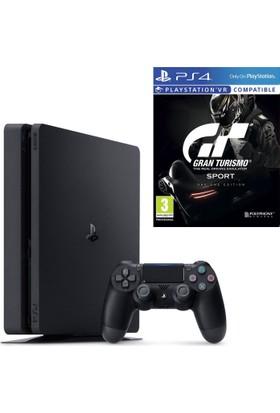 Sony PlayStation 4 Slim 1TB Oyun Konsolu + Gran Turismo Sport Day One Edition