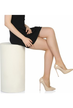 Sothe Ba-1022 Kadın Ten Rugan Topuklu Stiletto