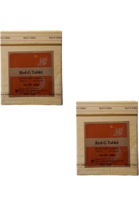 Red-G Tablet Kırmızı Tahta Kutu Red Ginseng (2 kutu 400 Kapsül)