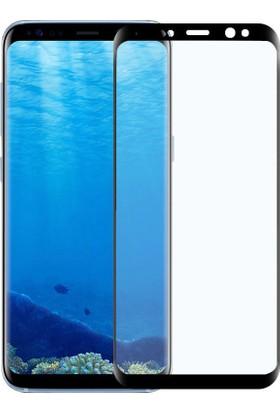 Sonmodashop Samsung Galaxy S8 3D Kavisli Full Tam Cam Ekran Koruyucu