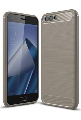 Sonmodashop Asus Zenfone 4 ZE554KL Termo Plastik Silikon Kılıf + Cam