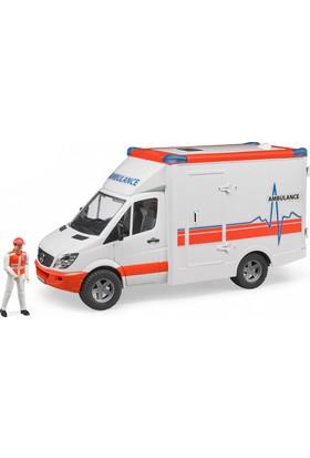 Bruder Mercedes Benz Sprinter Ambulans ve Ekibi
