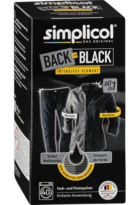 Simplicol Siyah Kot Kumaş Boyası