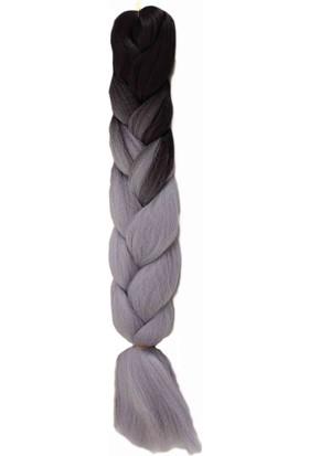 Aytuğ Peruk Mıss Haır Braıd,Rasta,Twıst,Afrika Saç Örgüsü-T3/Lıght Grey