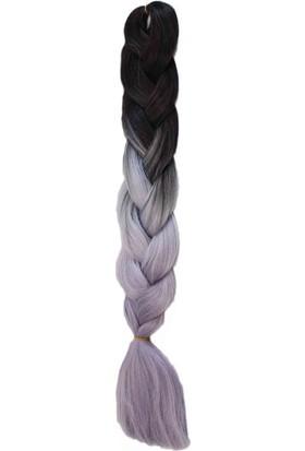 Aytuğ Peruk Mıss Haır Braıd,Rasta,Twıst,Afrika Saç Örgüsü-T2/Lıght Grey/Sılver Grey