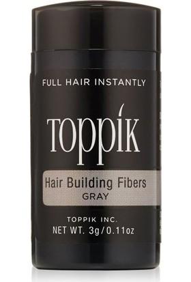 Toppik Hair Building Fibers 3 gr. Saç Fiberi Deneme Boyu Gri