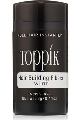 Toppik Hair Building Fibers 3 gr. Saç Fiberi Deneme Boyu Beyaz