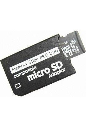 Pamir Micro Sd Hafıza Kartını Pro Duo Hafıza Kartına Çevirici Adaptör
