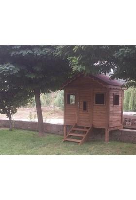 Garden Mobilya Ahşap Çocuk Oyun Evi