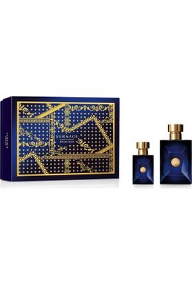 Versace Dylan Blue Edt Erkek 100 Ml + 30 Ml Erkek Parfüm Seti