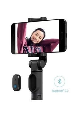 Xiaomi Selfie Çubuğu Tripod Bluetooth Uzaktan Kumandalı Telefon Kamera - Beyaz
