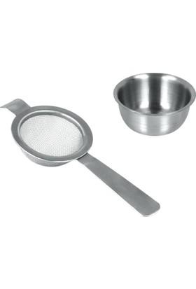 Metaltex Inox Çay Süzgeci Ve Altlığı