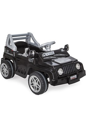 Pilsan Kuzzy 6V Akülü Araba / Siyah