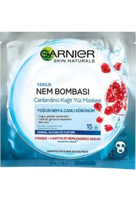 Garnier Nem Bombası Canlandırıcı Kağıt Maske 32GR