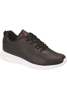 Kinetix Nina Siyah Fuşya Kadın Sneaker