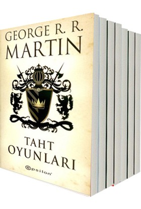 Taht Oyunları Game of Thrones (9 Kitap) - George R. R. Martin