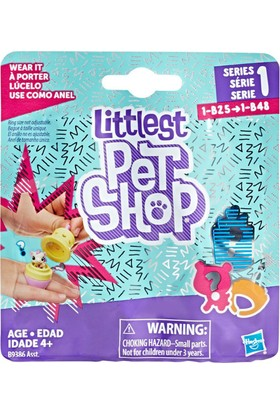 Littlest Pet Shop Miniş Sürpriz Paket B9386