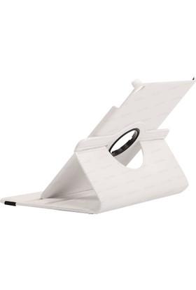 """Dark iPad Pro 9.7"""" 360° Dönebilen Beyaz Kılıf & Stand (DK-AC-IPROKRT97WH)"""