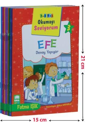 Okumayı Seviyorum Seti 1 ve 2 Sınıflar İçin Düz Yazılı (10 Kitap-Küçük Boy) - Fatma Işık