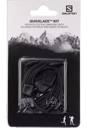 Salomon L32667200 Quicklace Tm Kit Siyah Unisex Aksesuar