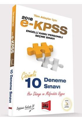 Yargı Yayınları 2018 E-Kpss Tüm Adaylar İçin Çözümlü 10 Deneme Sınavı