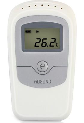 Aosong Termometre Higrometre Nem Ölçer Datalogger Thr260