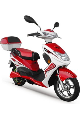 Stmax Bora 250 Kırmızı Elektrikli Motorsiklet