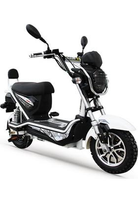 Stmax Kobra 250 Siyah Beyaz Elektrikli Motorsiklet