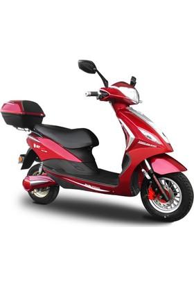 Stmax Safir 2500 Kırmızı Elektrikli Motorsiklet