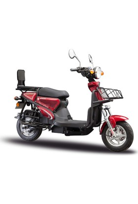 Stmax Kobra 2500 Kırmızı Elektrikli Motorsiklet