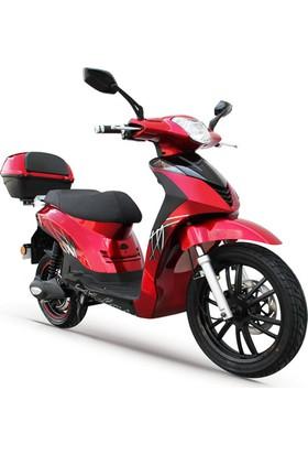 Stmax Klas 5000 Kırmızı Elektrikli Motorsiklet