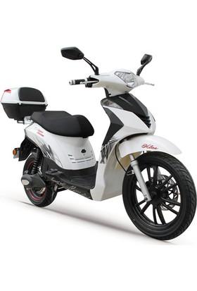 Stmax Klas 5000 Beyaz Elektrikli Motorsiklet