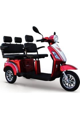 Stmax GF930 Kırmızı Elektrikli Motorsiklet