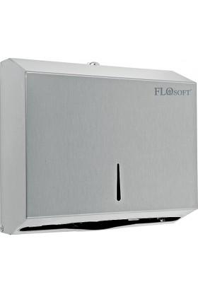 Flosoft Z Katlama Kağıt Havluluk 300' Lü Paslanmaz Çelik