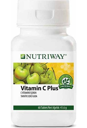 Amway NUTRIWAY Vitamin C Plus 60 Tablet (2 Adet)