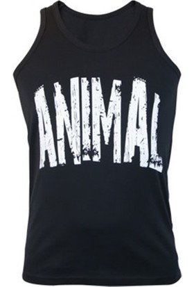 Supplementler Animal Tank Top Siyah