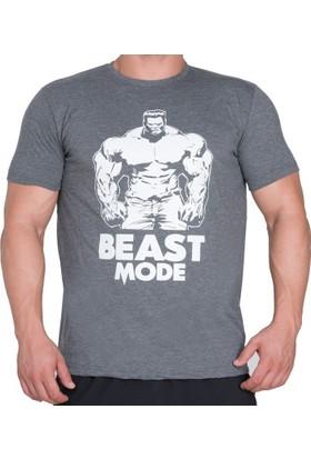 Supplementler Beast Mode Hlk Thirt Koyu Gri