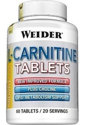 Weider L Carnitine Tablets 300 Mg 60 Tablet