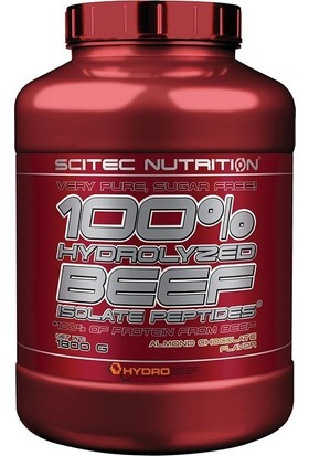 Scitec %100 Hydrolyzed Beef Isolate Protein 1800 Gr Çikolata-Badem