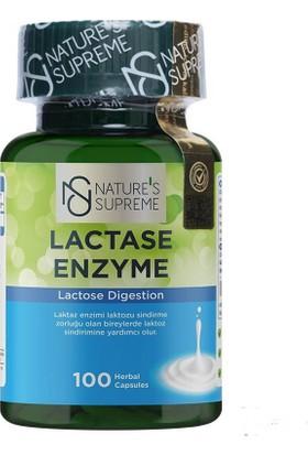 Nature's Supreme Lactase Enyzme 100 Kapsül
