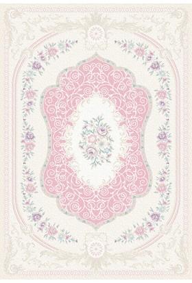Tiffany Lina TLN16-AP0 80x150 cm Saçaklı Klasik Halı