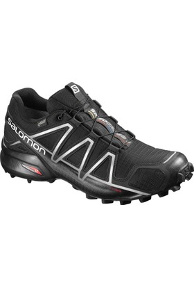 Salomon Speedcross 4 Gtx Erkek Ayakkabı L38318100 / Blackblacksılver Metallıc-X - 10