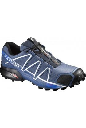 Salomon Speedcross 4 Erkek Ayakkabı L38313600 / Blackblackblack Metallıc - 10